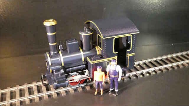 Dampflokomotive Emma