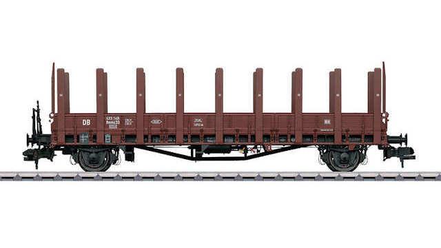 Rungenwagen Rmms 33 Ulm der DB