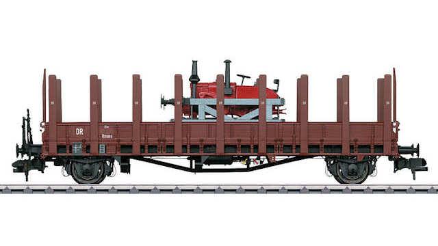 Rungenwagen Rmm der DRG Schienenlanz
