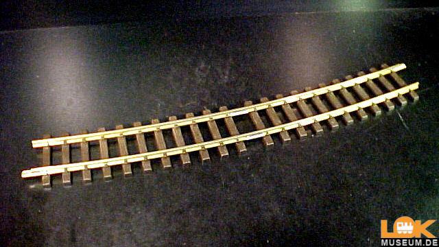 Gebogenes Gleis R5 15 Grad