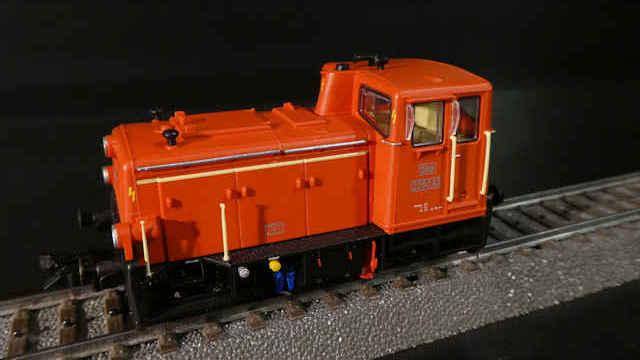 Diesellokomotive 2060.83 der ÖBB