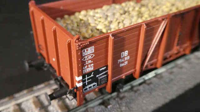 Offener Güterwagen Om 21 der DB