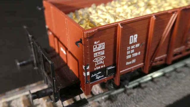 Offener Güterwagen Omu (O) der DR