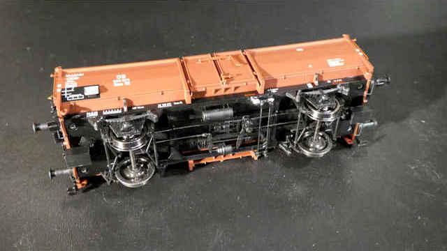 Offener Güterwagen Omm 52 der DB