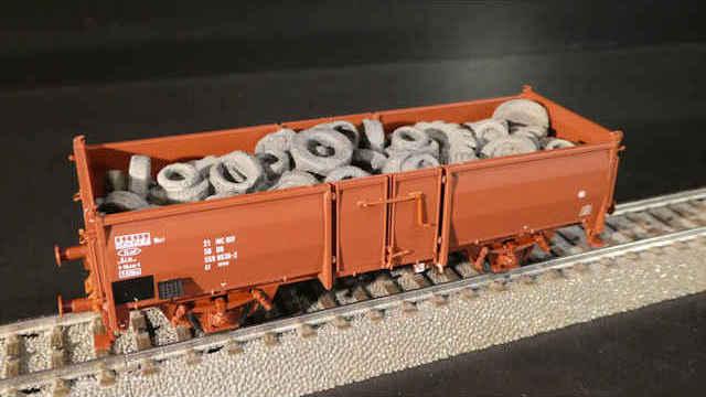 Offener Güterwagen El der DR