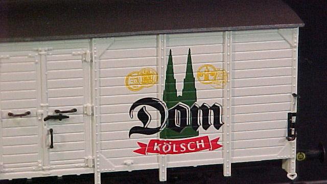 Bierwagen Dom Kölsch der DB