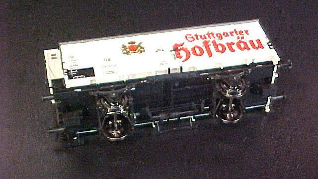 Bierwagen Stuttgarter Hofbräu der DB