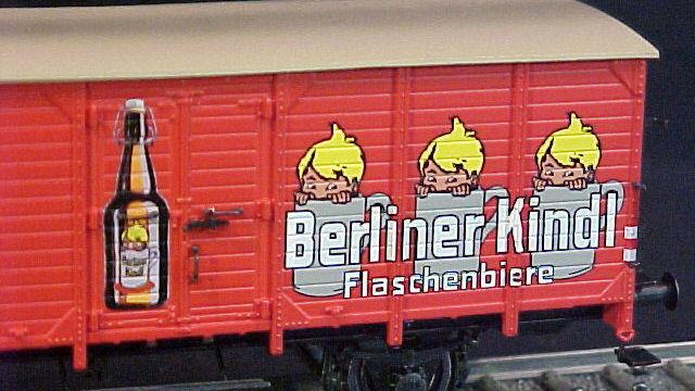 Bierwagen Berliner Kindl der DB