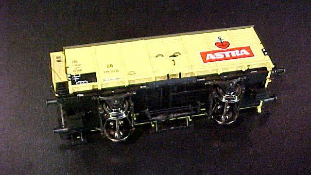 Bierwagen Astra der DB
