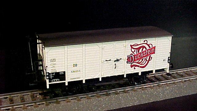 Bierwagen Duckstein der DB