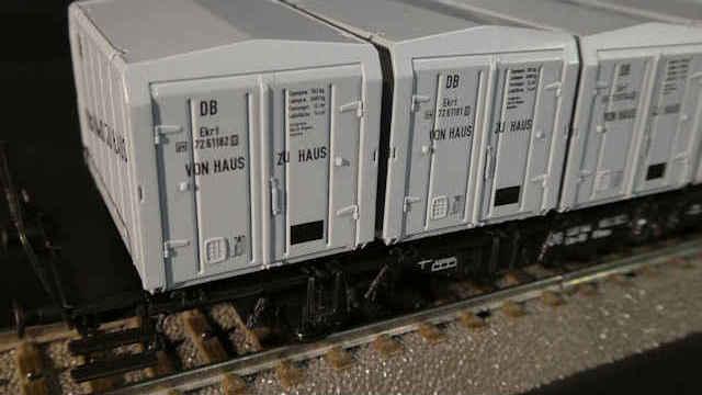 Behältertragwagen Lbs-58 der DB