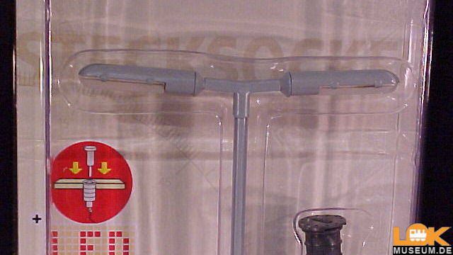 Bahnsteigleuchte 2-fach Stecksockel LED