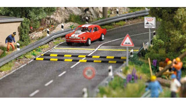 Verkehrsberuhigungs-Set