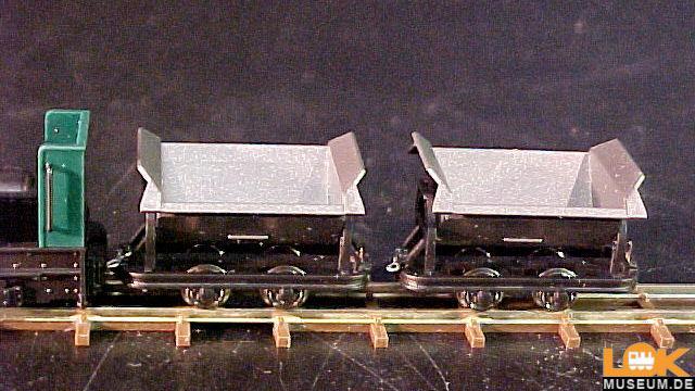 Feldbahn Start-Set mit Kipploren