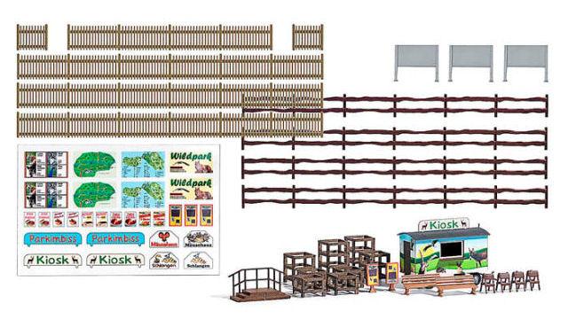 Wildpark Ausgestaltungs-Set