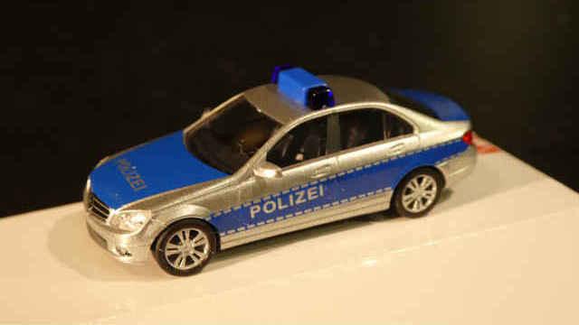 MB C-Klasse Avantgarde Polizei