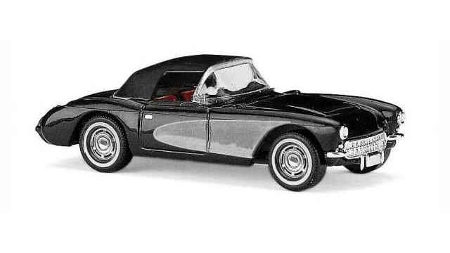 Chevrolet Corvette Cabrio geschl.Schwarz