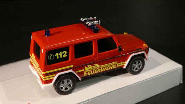 1//87 Busch MB G-Klasse Feuerwehr Geislingen 51424