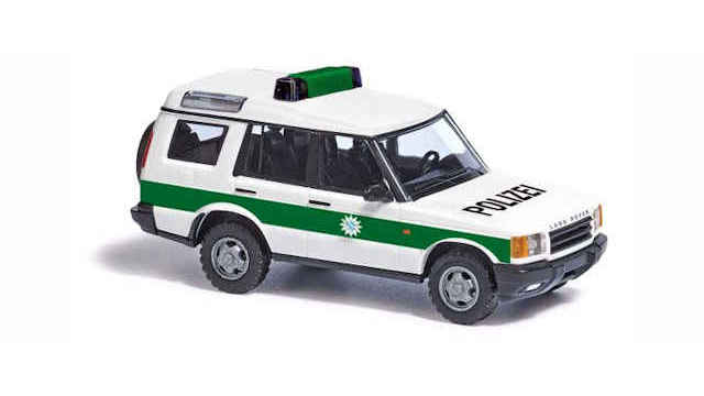 Land Rover Discovery Polizei Bayern