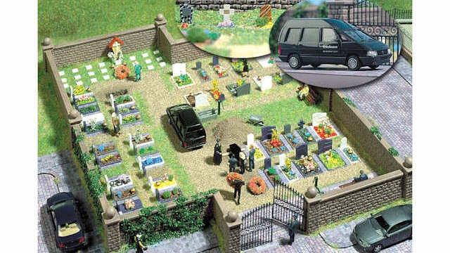 Bausatz Friedhof