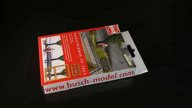 Busch 7853 H0 Action Set Rasentrimmer