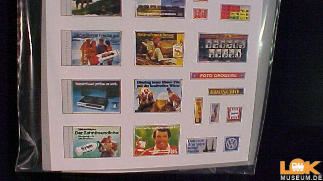 Werbeplakate-Set