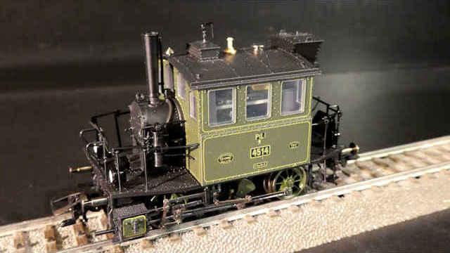 Dampflokomotive Gattung PtL 2/2 der K.Bay.Sts.B