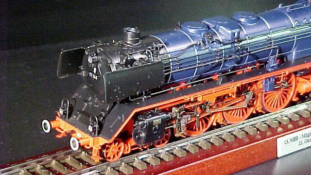Dampflokomotiver BR 01 der DB