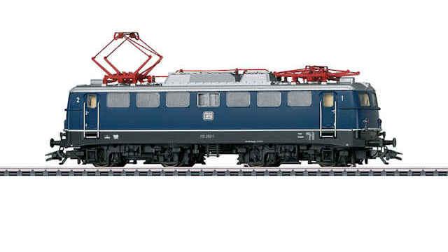 Elektrische Lokomotive BR 110.1 der DB
