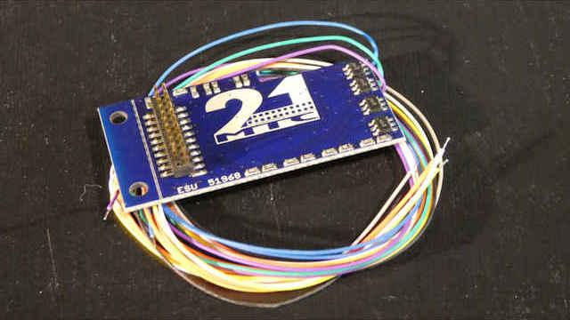 Adapterplatine 21MTC