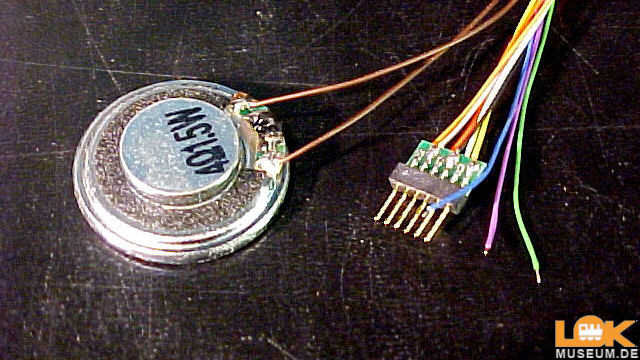 LokSound V4.0 Universalgeäusch 6-pin NEM651