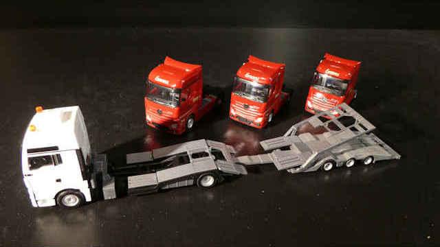 MAN LKW-Transporter Hängerzug Emons