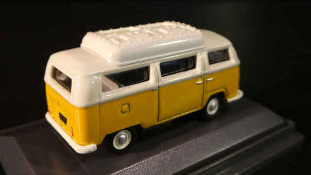 VW T2a Camper gelb/weiß