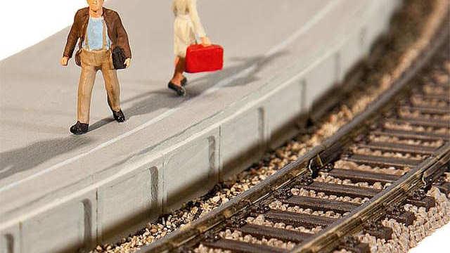 Flexible Bahnsteigkanten
