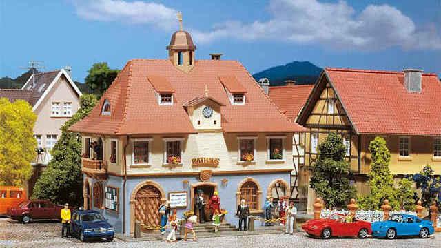Romantisches Rathaus
