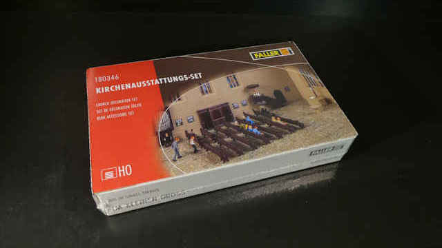 Faller 180346 kirchenausstattungs-set h0