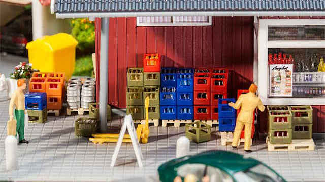 Getränkehandel-Inneneinrichtung