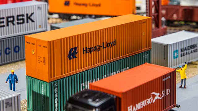 Hi-Cube Container Hapag Lloyd