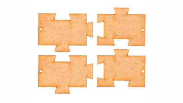 Bodenplatten Ergänzungs-Set Goldbeck