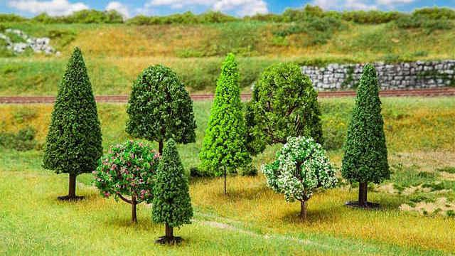 100 Bäume gemischt