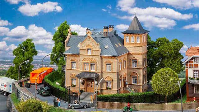 Faller 130497-1//87 H0 Kleinstadtwohnhaus Neu