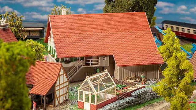 Großes Bauernhaus