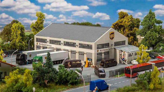 Logistikhalle UPS