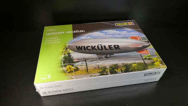 Faller 222411-1//160 N Luftschiff Wicküler Neu