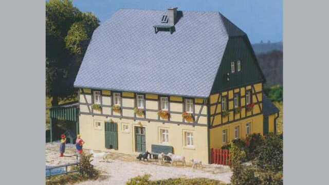 Grosses Bauernhaus mit Stall und Schauer