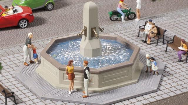 Brunnen Attrappe