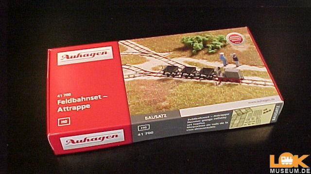 Feldbahnset - Attrappe