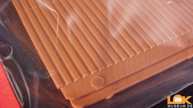 Trapezblechplatten rotbraun 2 Stück
