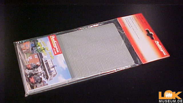 Trapezblechplatten grau 2 Stück