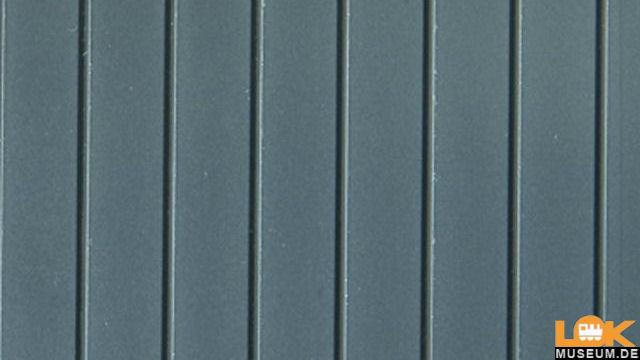 2 Blechdachplatten  HO/TT